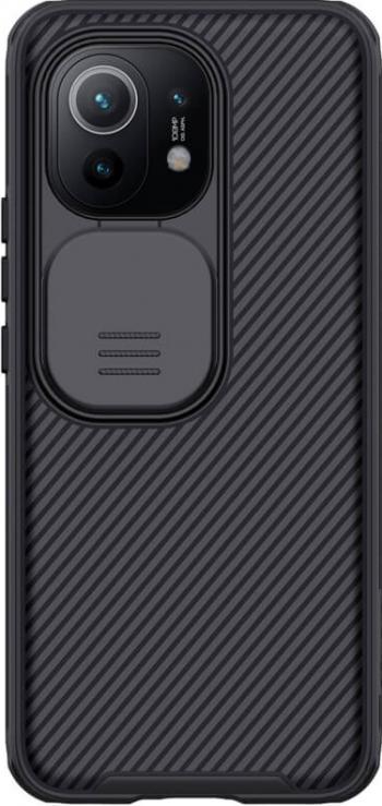 Husa protectie spate si camera foto negru pentru Xiaomi Mi 11- Nillkin CamShield