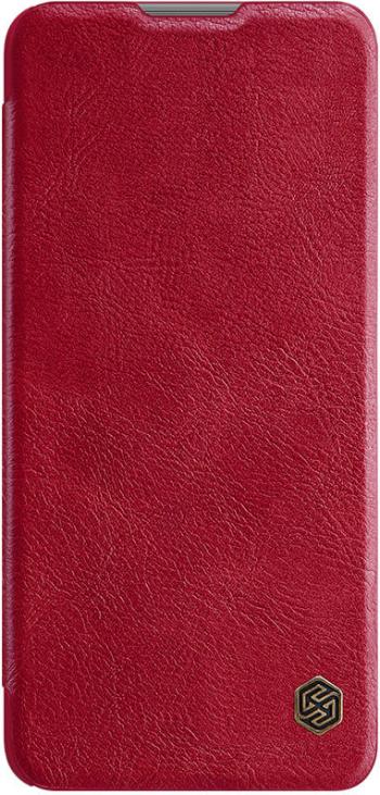 Husa tip carte Nillkin Qin pentru Xiaomi Mi 11 Lite 4G/5G rosu
