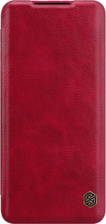 Husa tip carte Nillkin Qin pentru Xiaomi Mi 11 rosu