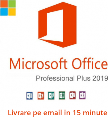 Microsoft Office 2019 Pro Plus Licenta Permanenta