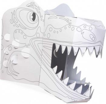 Coloreaza-ti propria Masca 3D T-Rex Fiesta Crafts FCT-3042