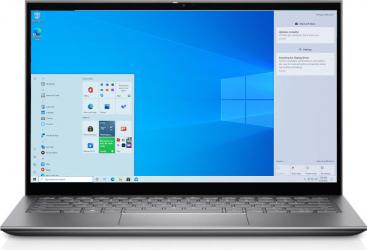 Laptop 2in1 Dell Inspiron 5410 Intel Core (11th Gen) i7-1165G7 512GB SSD 16GB MX350 2GB FullHD Touch Win10 Pro FPR T.Ilum. Platinum Silver