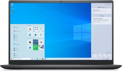 Laptop Dell Vostro 5410 Intel Core (11th Gen) i7-11370H 512GB SSD 16GB Geforce MX450 2GB FullHD Win10 Pro FPR T.Ilum. Titan Grey