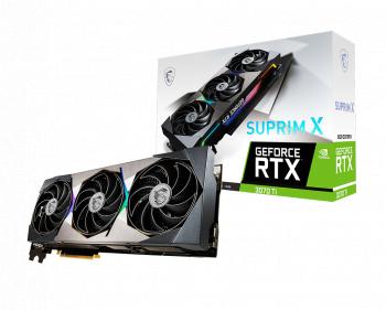 Placa video MSI GeForce RTX 3070 Ti SUPRIM X 8GB GDDR6X 256-bit