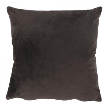 Perna material textil de catifea maro inchis 45x45 ALITA TIPUL 7