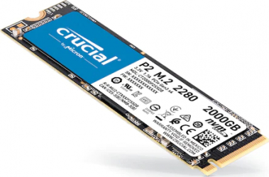 SSD Crucial P2 2TB NVMe PCIe 3.0 x4 M.2.