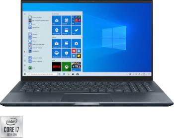 Ultrabook ASUS ZenBook Pro 15 UX535LI Intel Core (10th Gen) i7-10870H 1TB+512GB SSD 16GB GTX 1650TI 4GB FullHD Win10 T. ilum. Pine grey