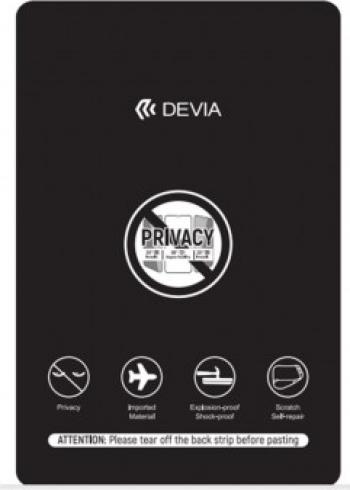 Folie Protectie Ecran Silicon PRIVACY Samsung Galaxy M11 Devia Blister