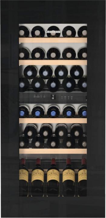 Vitrina de vin incoporabila Liebherr EWTgb 2383 169 l A Silent Filtru carbune Protectie copii Negru