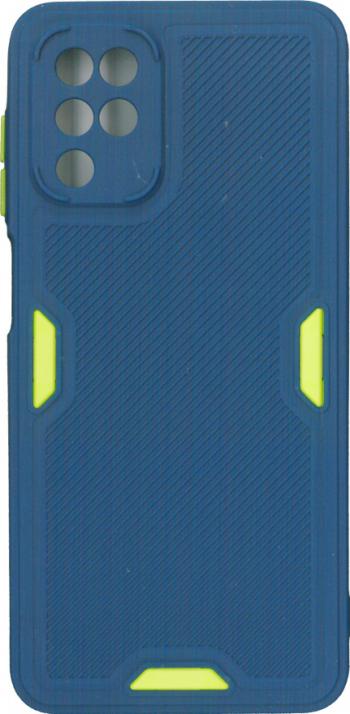 Bumper din silicon mat albastru pentru Samsung Galaxy A12