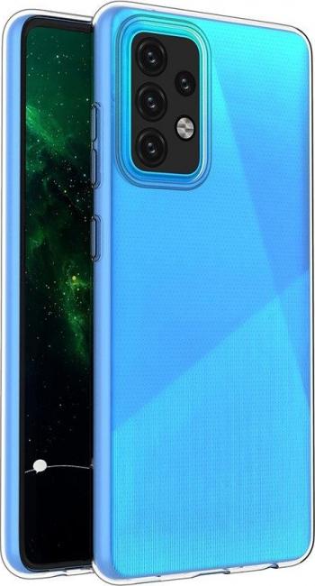 Husa Ultra Slim Upzz Compatibila Cu Xiaomi Mi 11 Lite 5G. Grosime 0.5mm Transparenta