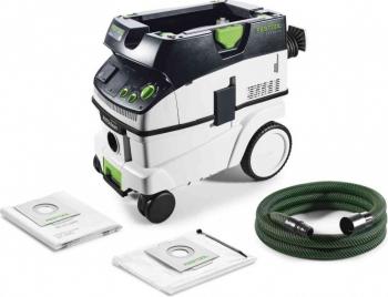 Aspirator mobil 1200 W capacitate rezervor 26 litri Festool CLEANTECCTL 26 E AC 574945