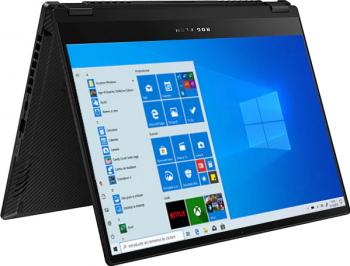 Laptop Gaming 2in1 ASUS ROG Flow X13 GV301QH AMD Ryzen 9 5900HS 1TB SSD 16GB GTX 1650 4GB UltraHD+ Touch Win10 FPR T. ilum. Negru