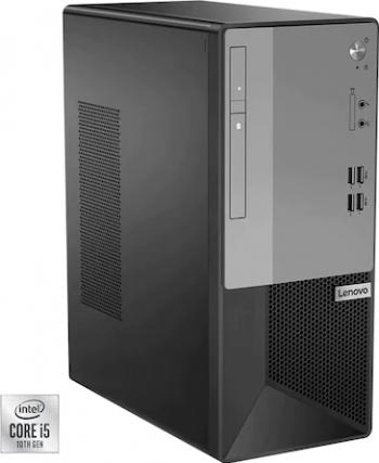 Desktop Lenovo V50T-13IMB MT Intel Core (10th Gen) i5-10400 256GB SSD 8GB DVD-RW