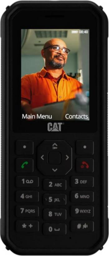 Telefon mobil Dual SIM CAT B40 LTE Black