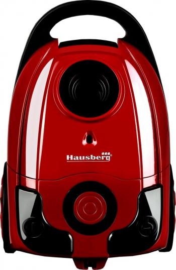 Aspirator cu sac Hausberg HB-2004R 700 W sac panza capacitate sac 3 L + Magic Mop Ertone Mop Rotativ rosu