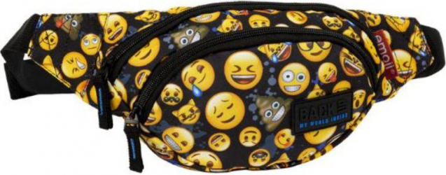 Borseta pentru copii model emoji smiley face