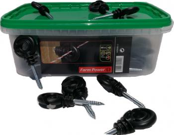 Izolatori fir pentru gard electric 90 buc/ cutie