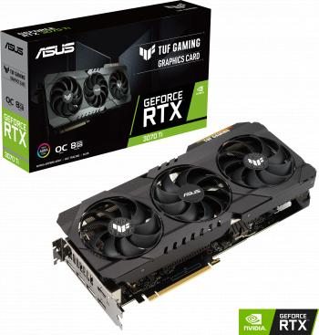 Placa video ASUS TUF Gaming GeForce RTX 3070 Ti OC Edition 8GB GDDR6X 256-bit
