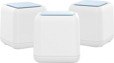 Sistem Wi-Fi Mesh PNI GB1200 Gigabit cu acoperire completa pentru casa 3 buc router si AP acces point