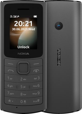 Telefon mobil Dual SIM Nokia 110 2021 4G Black