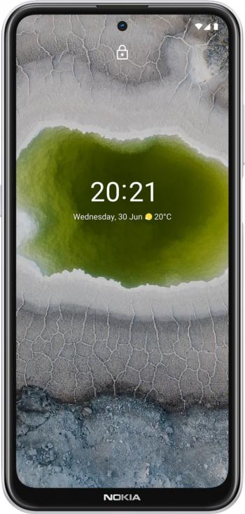 Telefon mobil Dual SIM Nokia X10 128 GB + 4 GB RAM 5G Snow