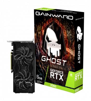 Placa video Gainward Ghost GeForce RTX 2060 6GB GDDR6 192-bit