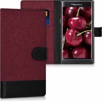 Husa pentru Blackberry Priv Textil Rosu 37797.20