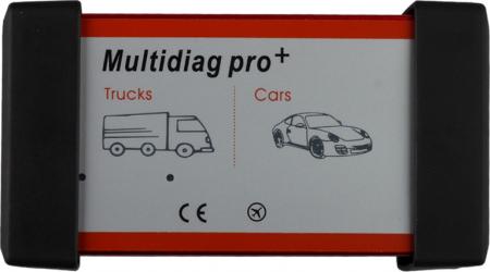 Tester diagnoza auto / Interfata diagnoza auto profesionala uniersala multimarca Turisme si Camioane Romana ultima versiune Multidiag Pro+