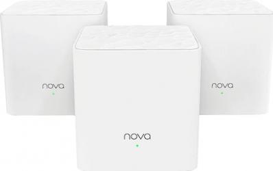 Sistem wireless Tenda Nova MW3 3 Pack AC1200 Dual-Band White