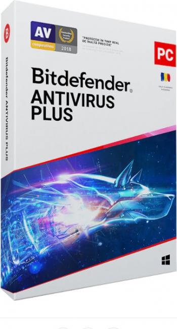 Bitdefender Antivirus Plus 1 an 1 dispozitiv scratch card