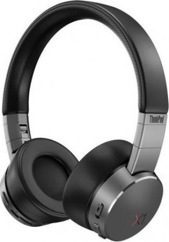 Casti cu microfon Lenovo ThinkPad X1 Active Noise Cancellation Black-Iron Grey