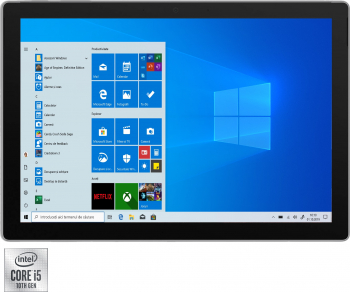 Laptop 2 in 1 Microsoft Surface Pro 7 cu procesor Intel Core i5-1035G4 pana la 3.70 GHz 12.3