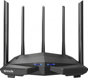 Router wireless Tenda AC11 Gigabit Dual-band AC1200 Negru