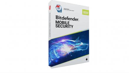 Bitdefender Mobile Security 2021 1an 1 Device scratch card