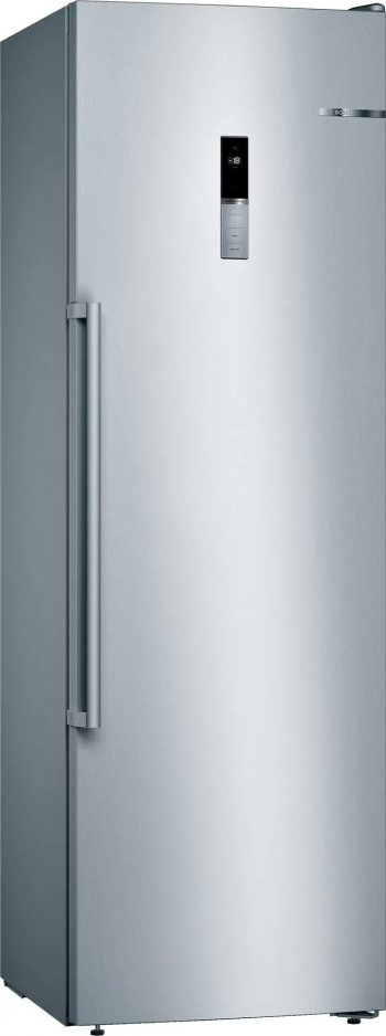 Congelator Bosch GSN36BIEP 242 l 4 sertare Clasa E NoFrost FreshSense SuperFreezing H 186 cm Inox Antiamprenta
