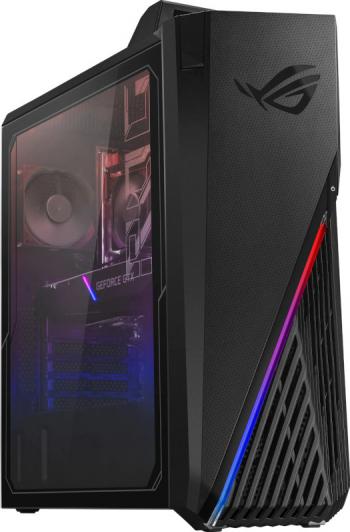 Desktop Gaming ASUS ROG Strix GA15 AMD Ryzen 5 5600X 1TB SSD 16GB GTX 1660 Ti 6GB M+T Negru