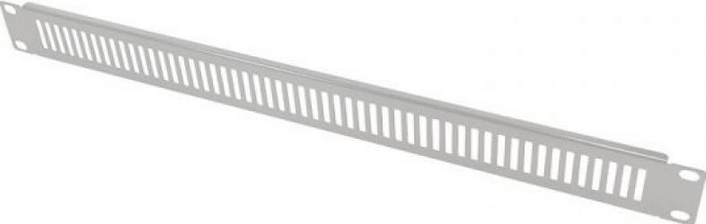 Masca Perforata Logilink PN111G 19 inch 1U Argintiu