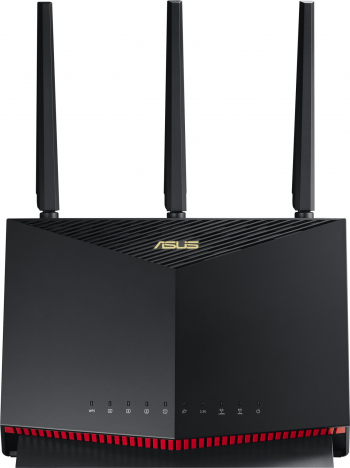 Router Wireless Gaming ASUS RT-AX86U AX5700 Dual Band Gigabit MU-MIMO OFDMA Beamforming Control Parental AiCloud Traffic Analyzer