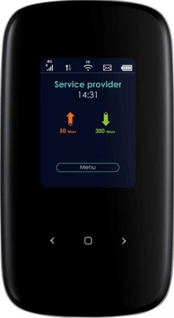 Router wireless Portable ZyXEL LTE2566-M634-EUZNV1F 4G LTE-A Mobile WiFi