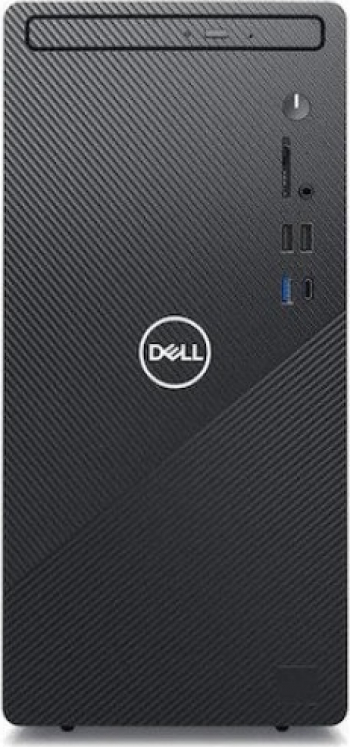 Sistem Desktop Dell Inspiron 3881 cu procesor Intel® Core™ i3-10100 pana la 4.30 GHz Comet Lake 8GB DDR4 HDD 1TB 7200 rpm Wireless si