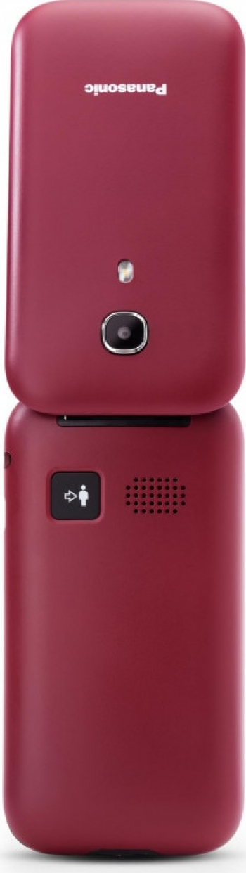Telefon mobil Panasonic KX-TU400EXR Single SIM 1GB RAM Rosu