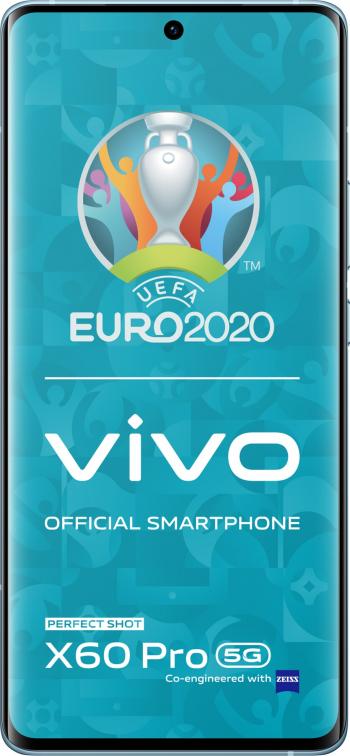Telefon mobil Vivo X60 Pro Dual SIM 12GB RAM 256GB 5G Shimmer Blue