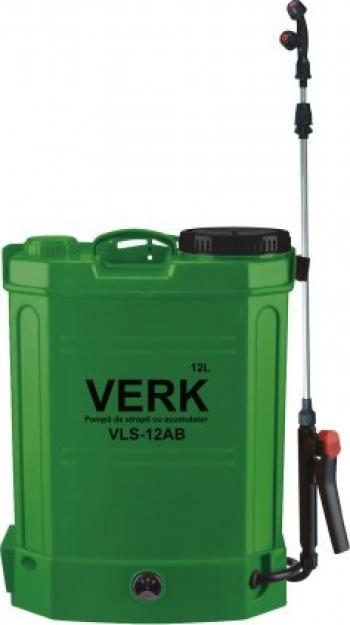 Pompa de stropit Verk VLS-12AB 12 L cu acumulator AKT