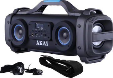 Boxa portabila AKAI ABTS-SH01 4 difuzoare super blaster Karaoke USB