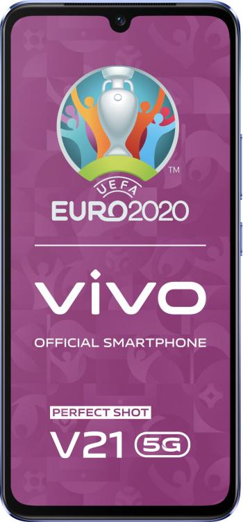 Telefon mobil Vivo V21 8GB RAM 128GB 5G Sunset Dazzle