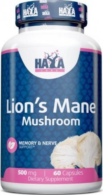 Haya Labs Lions Mane Mushroom 500mg 60 Capsule