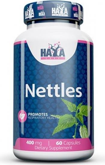 Haya Labs Nettles urzica 400mg 60 Capsule