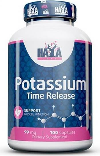 Haya Labs Potassium eliberare prelungita 99mg 100 Capsule