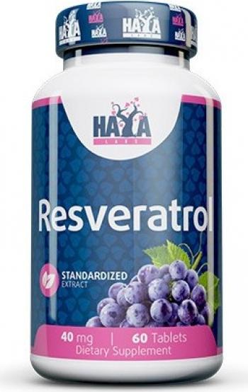 Haya Labs Resveratrol trans 40mg 60 Capsule